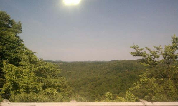 This is actually just across the border in good ole. WV, but we get the same view ;)